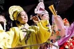 Parada chinesa do ano novo Imagem de Stock