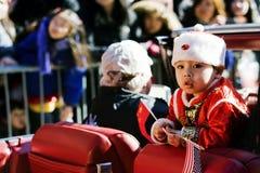 Parada chinesa do ano novo Foto de Stock Royalty Free