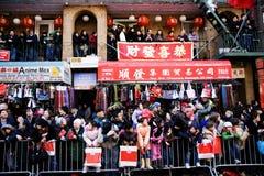 Parada chinesa do ano novo Fotografia de Stock