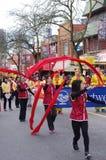 Parada chinesa do ano novo em Vancôver Fotografia de Stock
