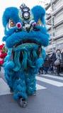 Parada chinesa do ano novo - o ano do cão, 2018 Foto de Stock