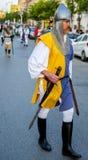 Parada com os trajes da Idade Média Imagem de Stock