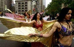 Parada da dança em New York fotografia de stock royalty free