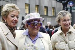 A parada da Páscoa na 5a avenida em New York City Imagem de Stock