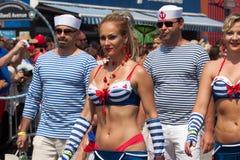 Parada da sereia de Coney Island foto de stock