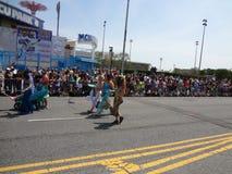 A parada 2013 da sereia de Coney Island 52 Foto de Stock