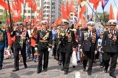 Parada da vitória Imagens de Stock
