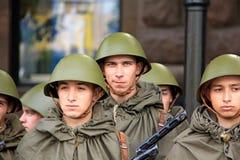 Parada da vitória Imagem de Stock Royalty Free