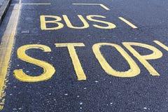 Parada de autobús imagen de archivo