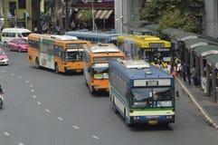 Parada de autobús de Victory Monument Fotografía de archivo