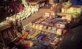 Parada de calle en el mercado Imágenes de archivo libres de regalías