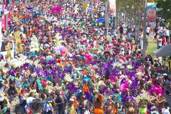 Parada de Caribana imagens de stock royalty free
