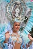 Parada de carnaval 2015 das crianças de Las Palmas de Gran Canaria Imagem de Stock Royalty Free