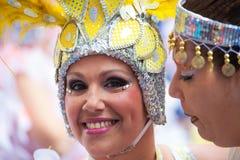 Parada de carnaval principal do Las Palmas Fotografia de Stock