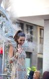Parada de carnaval principal do Las Palmas Fotografia de Stock Royalty Free