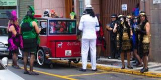 Parada de carnaval principal do Las Palmas Foto de Stock Royalty Free