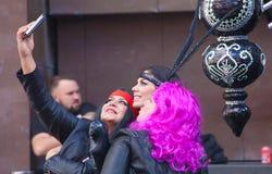 Parada de carnaval principal do Las Palmas Fotos de Stock