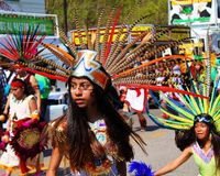 Parada de Cinco de Mayo Imagens de Stock Royalty Free