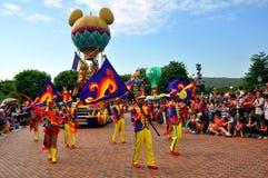 Parada de Disneylâandia Fotografia de Stock Royalty Free