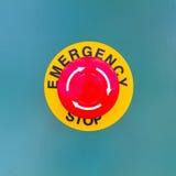Parada de emergência fotografia de stock