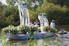 Parada de flutuação 2011 da flor de Westland Fotografia de Stock Royalty Free
