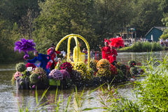 Parada de flutuação 2011 da flor de Westland Fotos de Stock Royalty Free