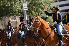 Parada de Houston Livestock Show e do rodeio Imagens de Stock