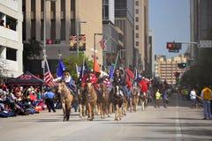 Parada de Houston Livestock Show e do rodeio Imagens de Stock Royalty Free