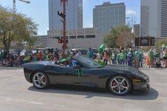A parada de Houston St Patrick Imagem de Stock