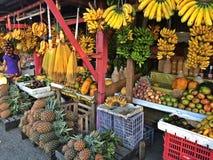 Parada de la fruta de la calle Foto de archivo