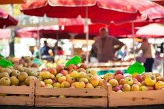 Parada de la mercado de la fruta fotografía de archivo