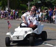 Parada de Memorial Day Fotografia de Stock Royalty Free