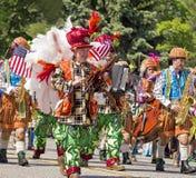 Parada de Memorial Day Imagens de Stock Royalty Free