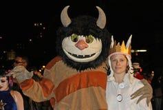 Parada de New York o Dia das Bruxas Imagens de Stock Royalty Free