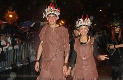 Parada de New York o Dia das Bruxas Imagens de Stock