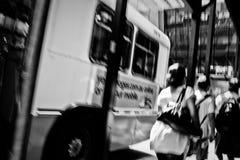 Parada de omnibus Fotografía de archivo libre de regalías