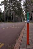 Parada de omnibus de KP Imagen de archivo libre de regalías