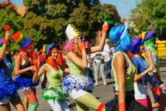 Parada de orgulho alegre Fotos de Stock Royalty Free