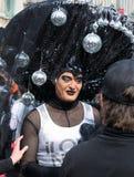 Parada de orgulho alegre em Bruxelas Foto de Stock Royalty Free