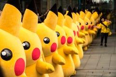 Parada de Pikachu, Yokohama, Japão Fotos de Stock