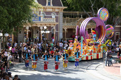 Parada de Soundsetional de Mickey Imagem de Stock