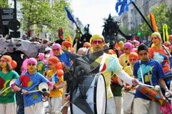 Parada de Zinneke Fotografia de Stock