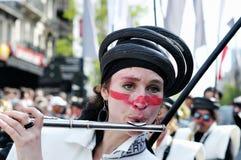 Parada de Zinneke Imagem de Stock Royalty Free