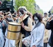 Parada de Zinneke Fotos de Stock Royalty Free
