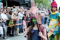 Parada de Zinneke o 19 de maio de 2012 Imagem de Stock