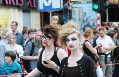Parada de Zinneke o 19 de maio de 2012 Imagens de Stock