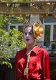 Parada de Zinneke o 22 de maio de 2010 em Bruxelas Imagem de Stock Royalty Free