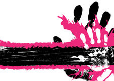 Parada del fondo de Grunge Stock de ilustración