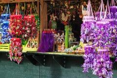 Parada del mercado de Pascua en Europa Fotos de archivo
