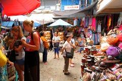 Parada del mercado en bali Fotos de archivo libres de regalías